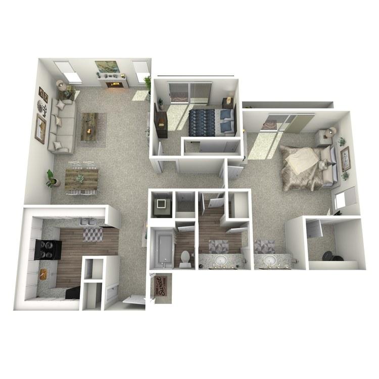 980 floor plan image