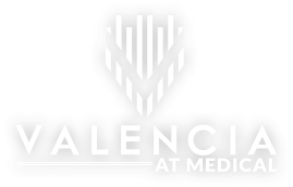 Valencia at Medical Logo