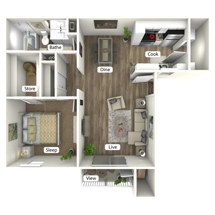 Floor plan image of The Bungalow