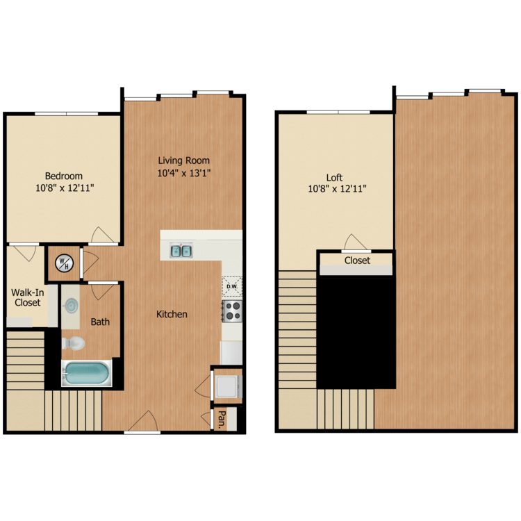 Floor plan image of A1 Loft