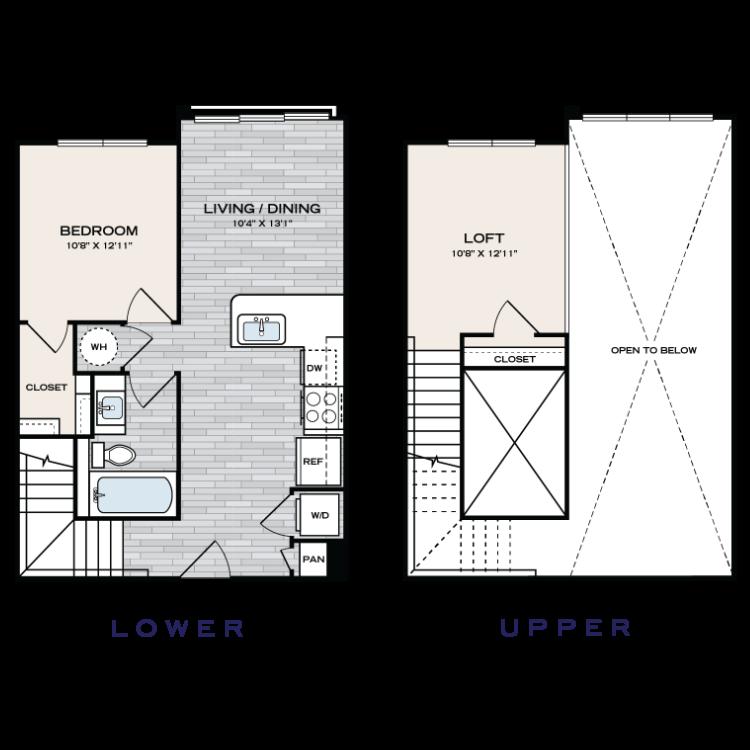 Floor plan image of A1 Loft