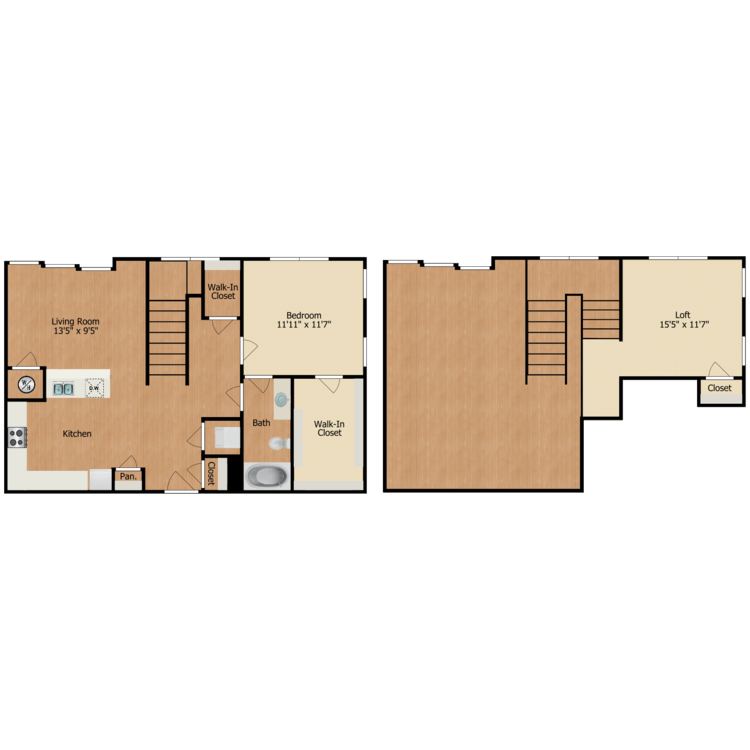 Floor plan image of A2 Loft