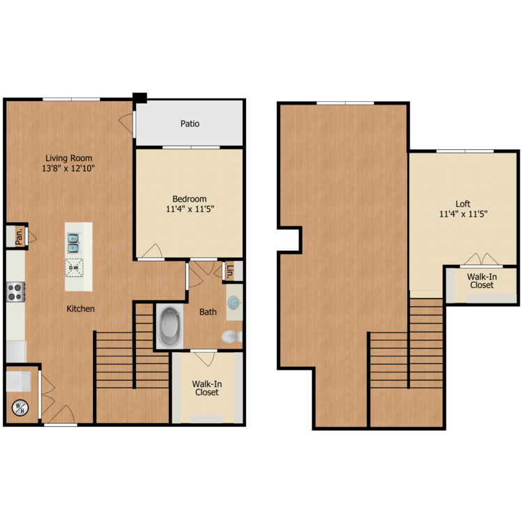 Floor plan image of A3 Loft