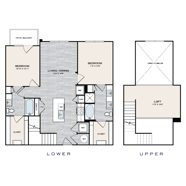 Floor plan image of B2 Loft