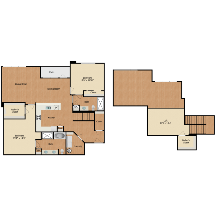 Floor plan image of B3 Loft