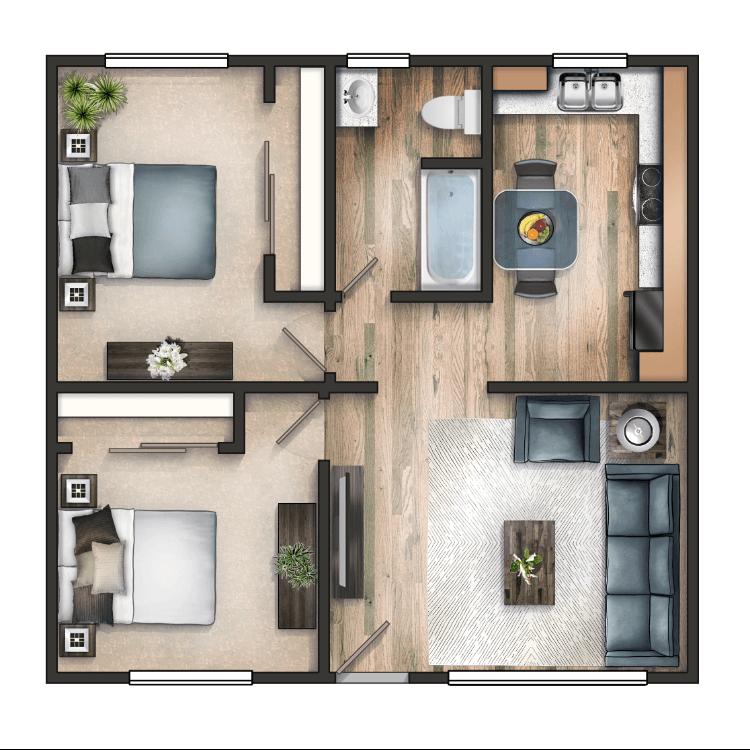 Floor plan image of The Wellington