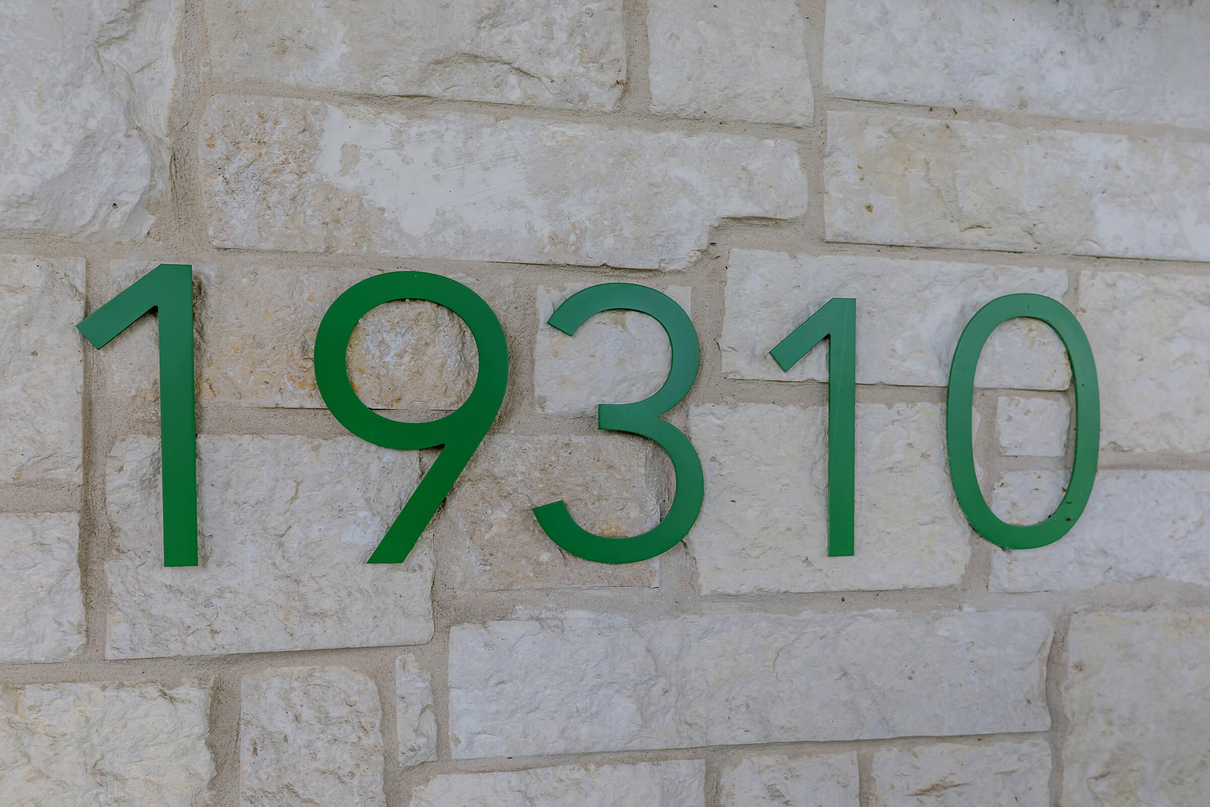 a sign on the side of a building