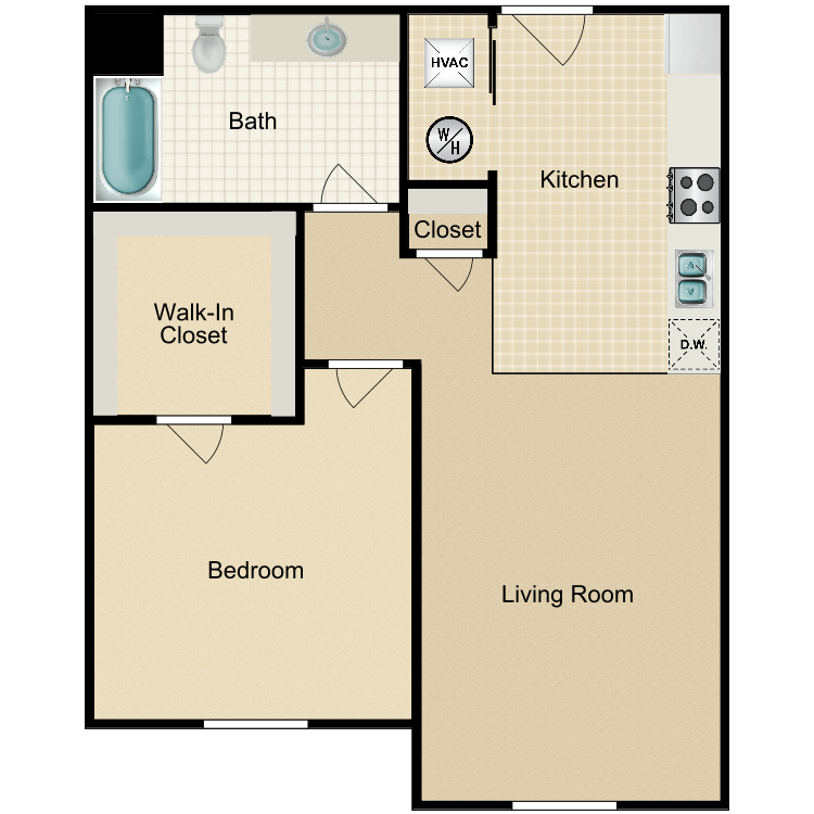 The Patriot floor plan image