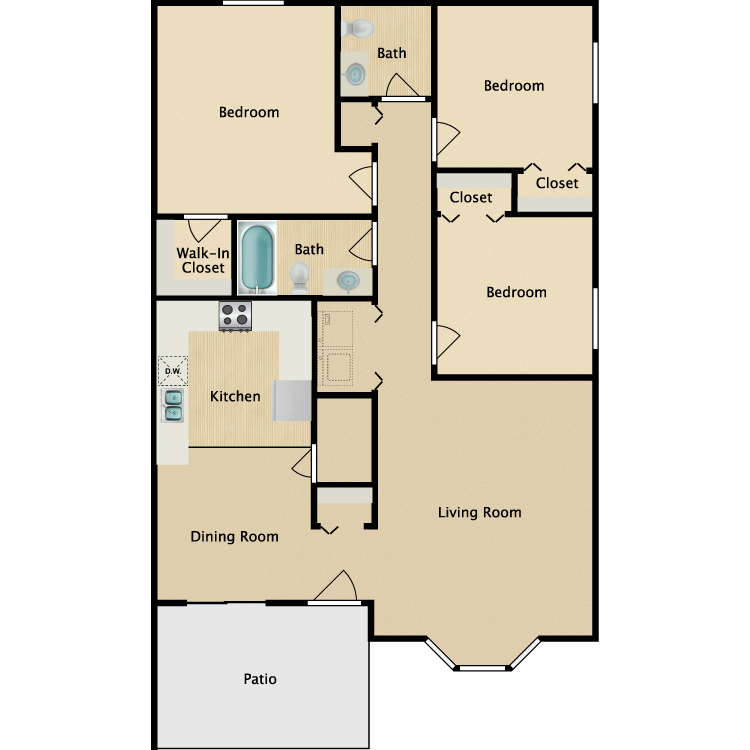 Single Story floor plan image