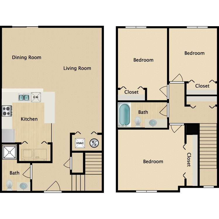 Two Story floor plan image