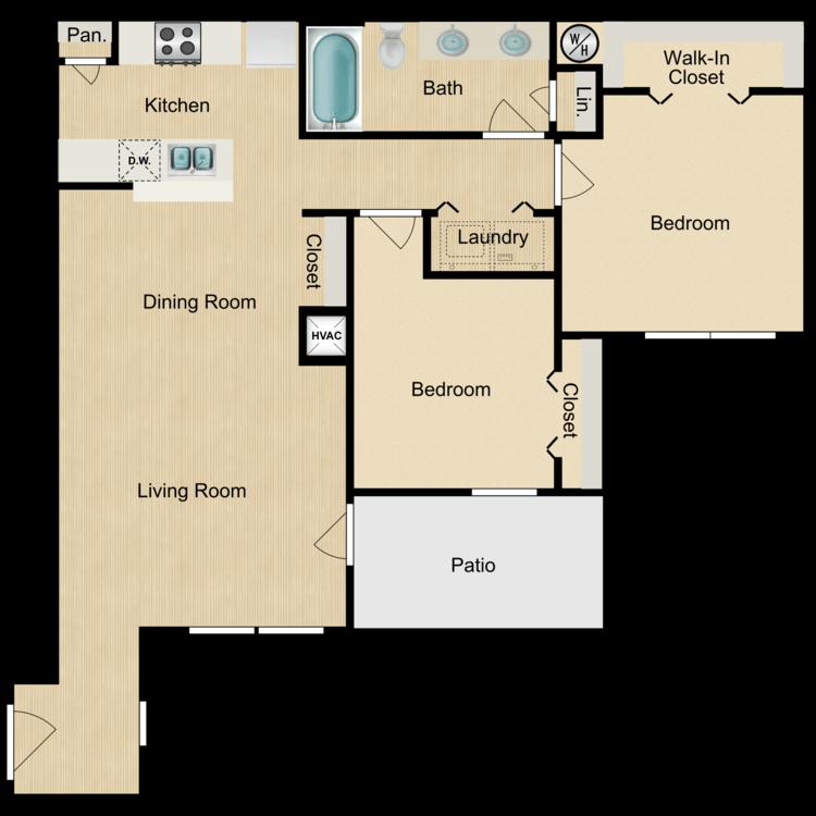 Floor plan image of Piemonte