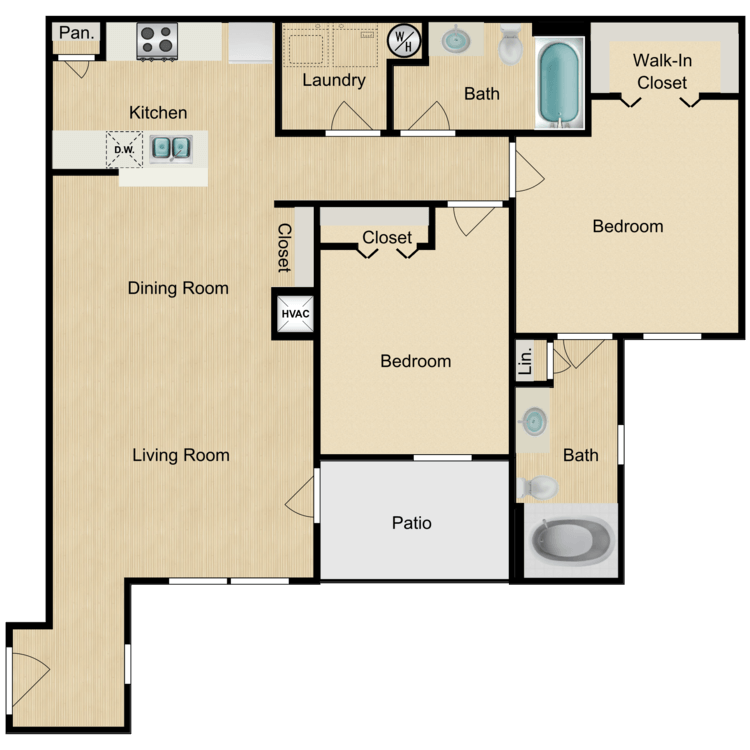 Floor plan image of Chiante