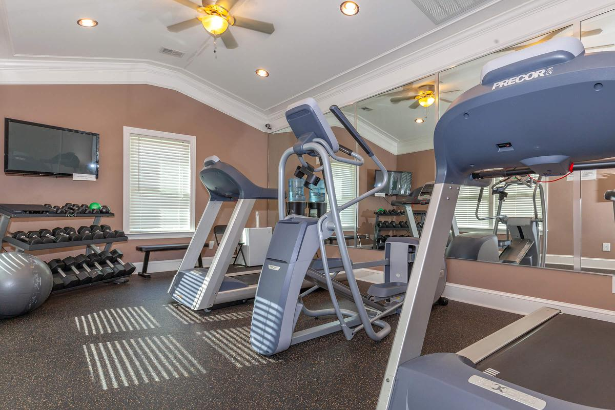 STATE-OF-THE-ART FITNESS CENTER AT UNIVERSITY VILLAGE AT WALKER ROAD IN JACKSON, TENNESSEE