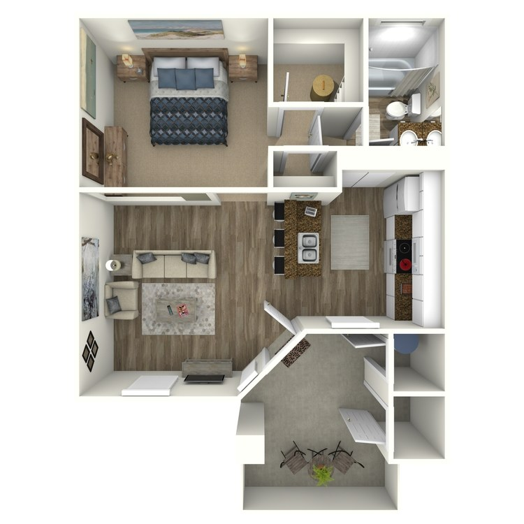 Floor plan image of The Aspen