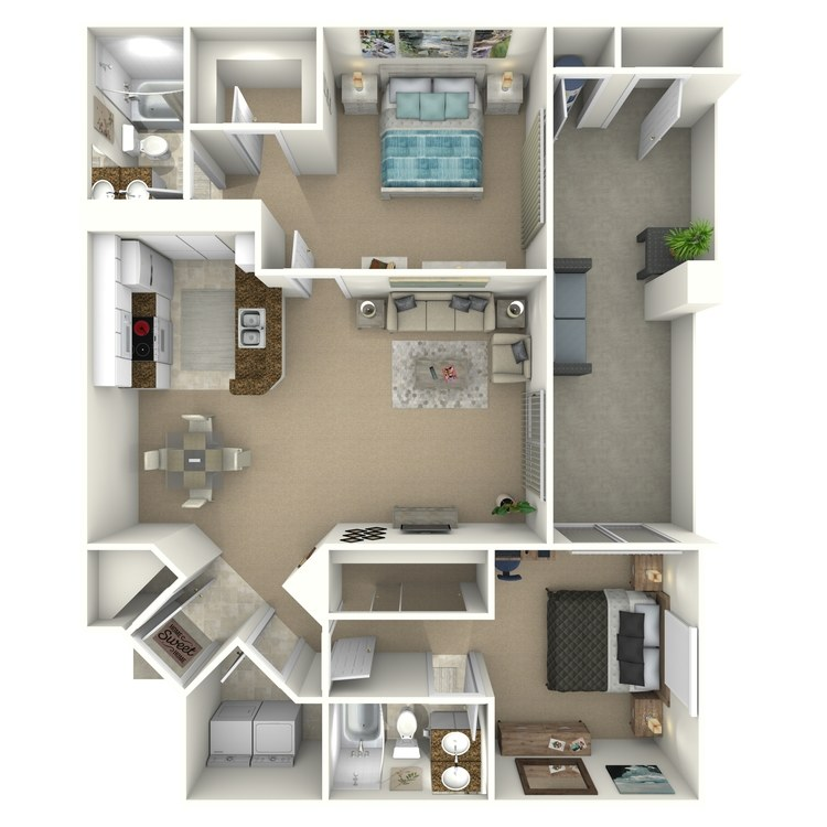 Floor plan image of The Dogwood