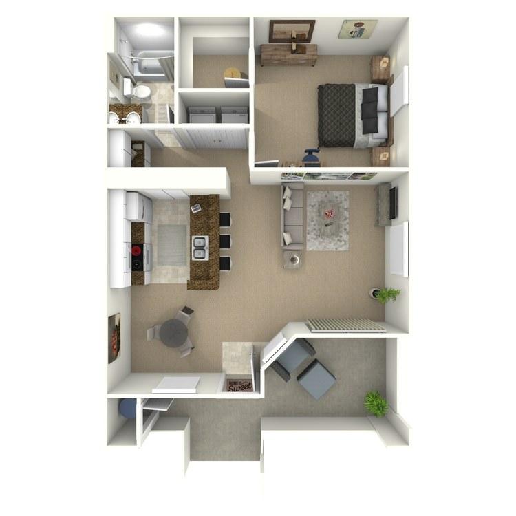 Floor plan image of The Birch