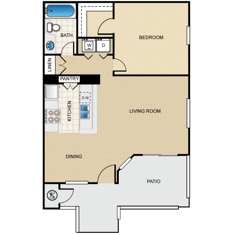 The Birch floor plan image