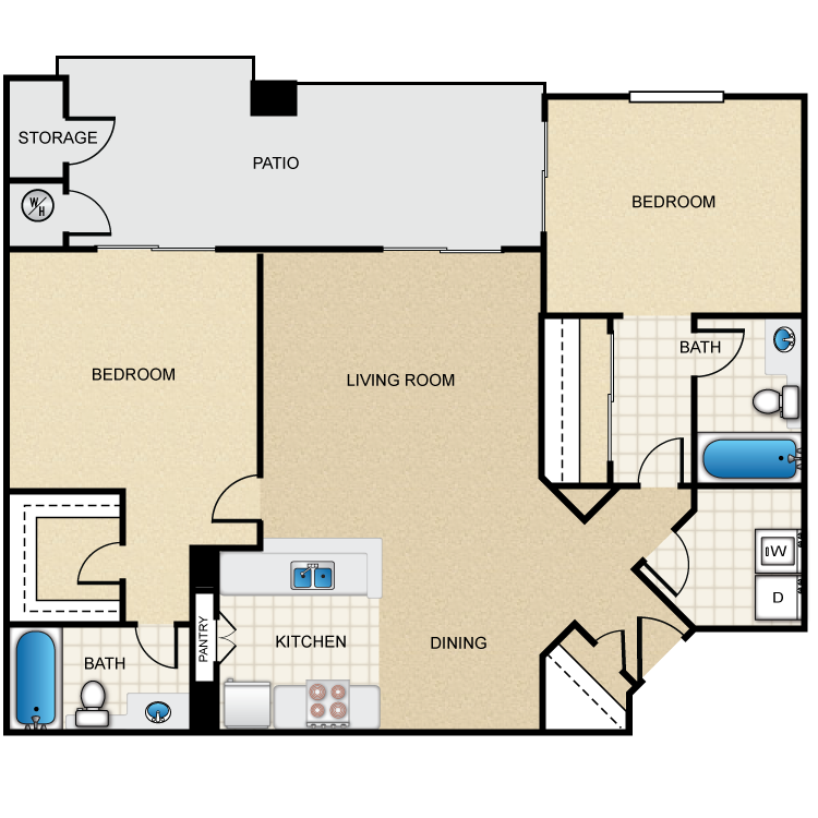 The Dogwood floor plan image