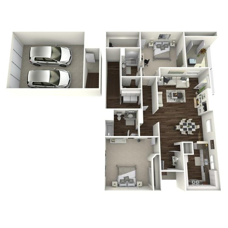 Floor plan image of Pegasus 2