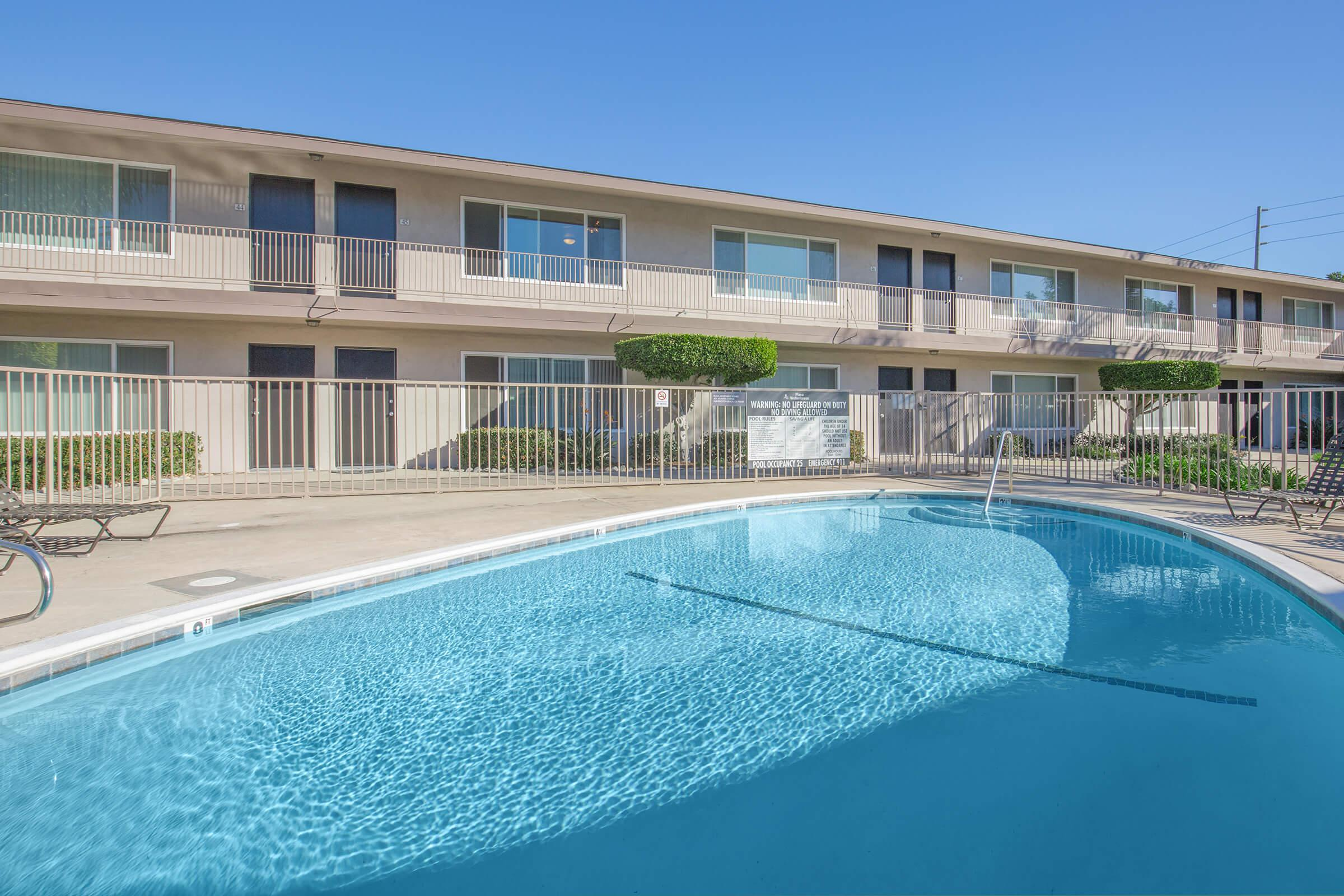 Playa Mediterranean Apartment Homes community pool