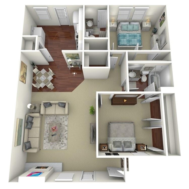 Floor plan image of B6