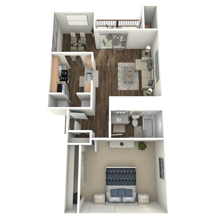Floor plan image of Malbec