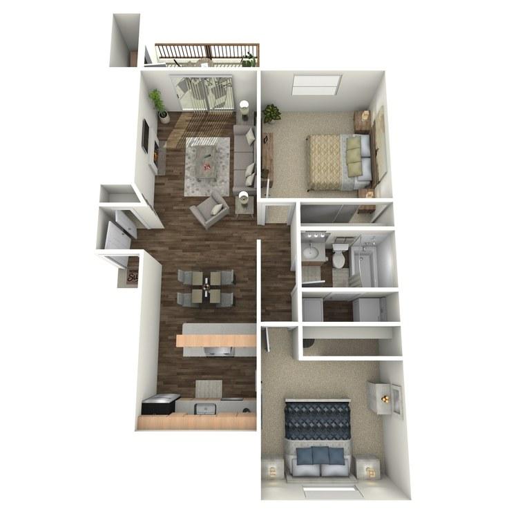 Floor plan image of Syrah