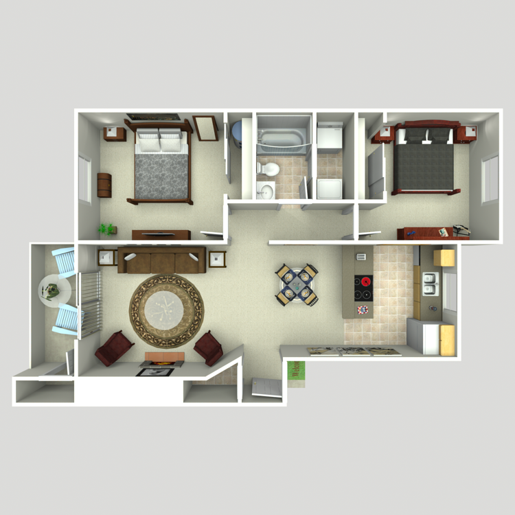 Floor plan image of Syrah