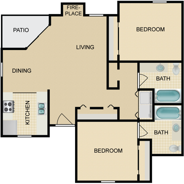 Floor plan image of The Sequoia, Downstairs