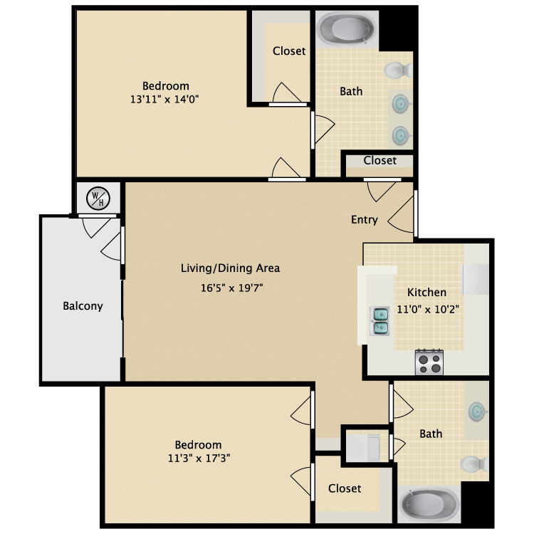 Floor plan image of PORTOFINO