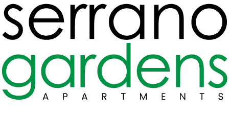 Serrano Luxury Apartment Homes and Garden Logo