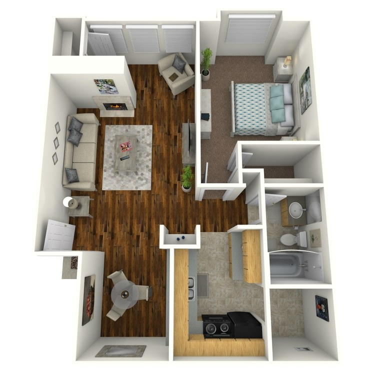 Floor plan image of A1S