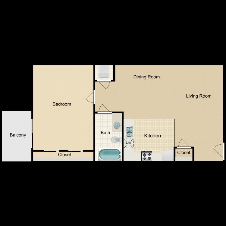 Floor plan image of Plan C - Detached Garage