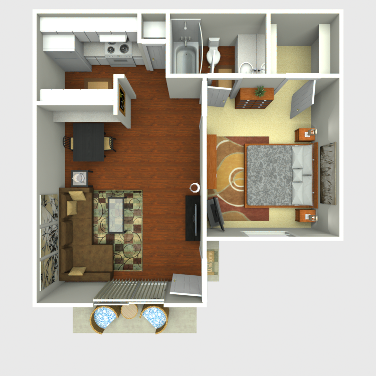 Floor plan image of A1-A2