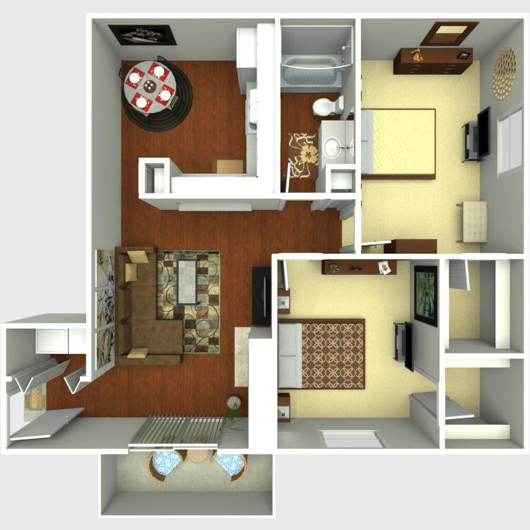 Floor plan image of C1-C2