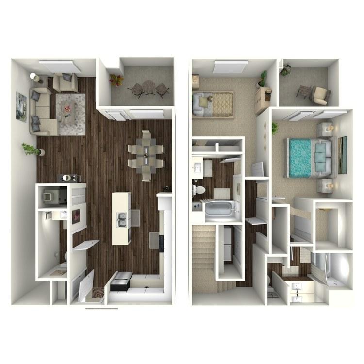 Floor plan image of Linen