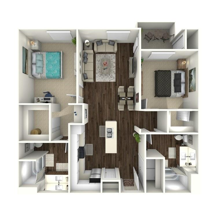 Floor plan image of Kraft