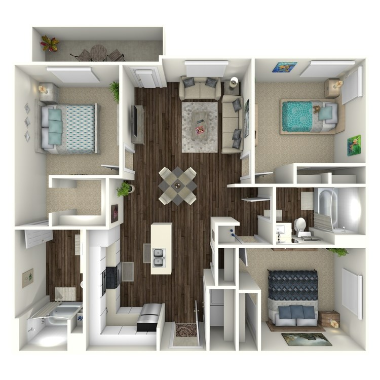 Floor plan image of Canvas