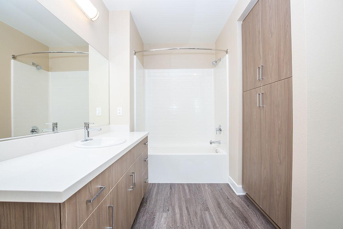 Vacant bathroom