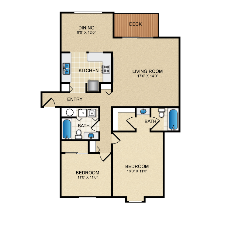 Floor plan image of Birmingham