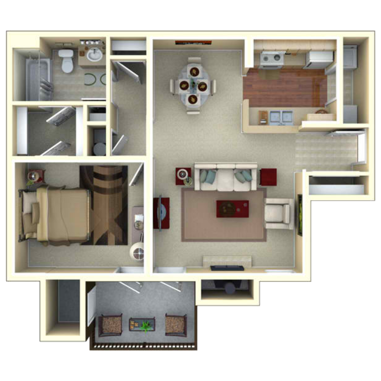 Floor plan image of The Orchid