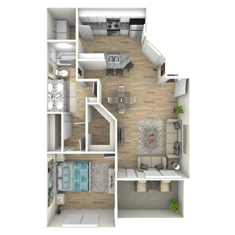 Floor plan image of The Schooner