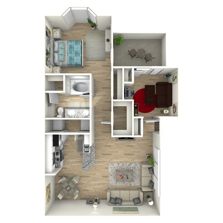 Floor plan image of The Scamp