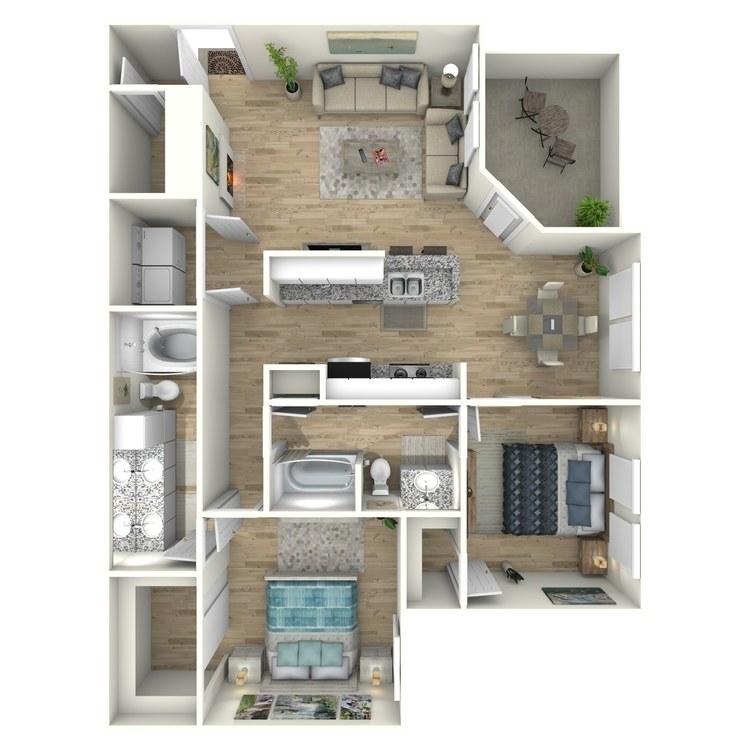 Floor plan image of The Trimaran