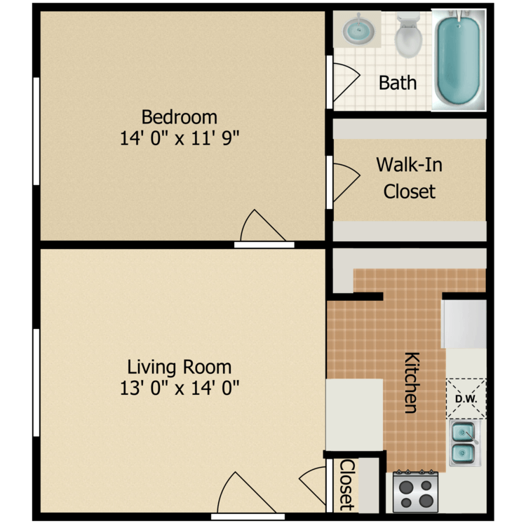 Floor plan image of A-1