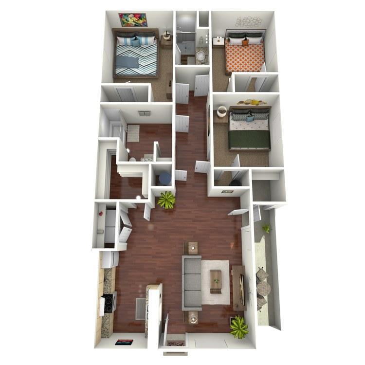 Floor plan image of The Maple