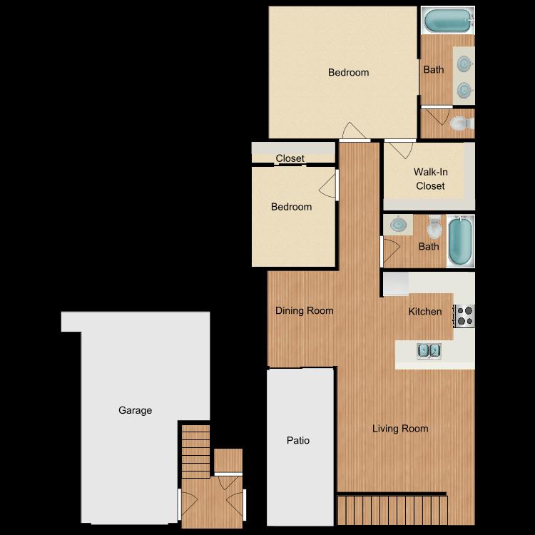 Plan A1 floor plan image