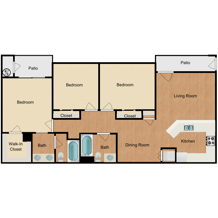 Floor plan image of Plan B2