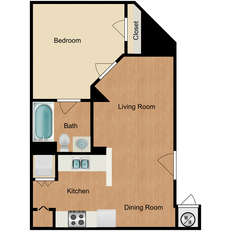 Floor plan image of Plan C3