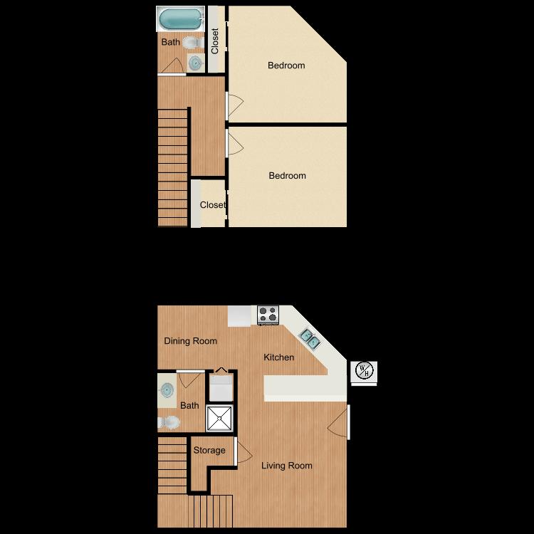 Plan D3 floor plan image